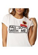 BLUSA T SHIRT FALL LOVE